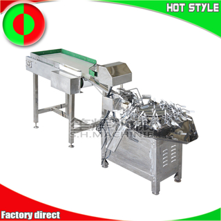 Egg breaking separator machine