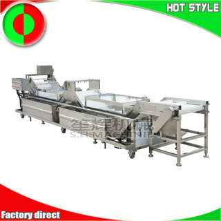 Shenghui factory non-destructive apple lettuce fruits and vegetables wash cleaning line