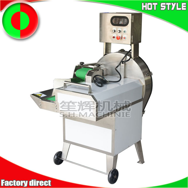 Automatic salad vegetable cutter