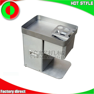 Meat slicer cutting machine