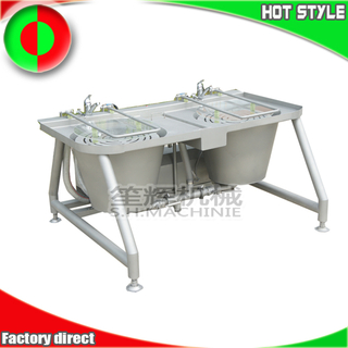 Double cylinder basket type bubble vegetable washing machine fruit cleaning machine ozone washer