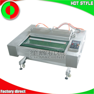 Continuous meat fish vacuum packaging machine food sealing machine