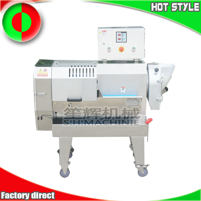 Commercial fruit and vegetable cutting machine for restaurant