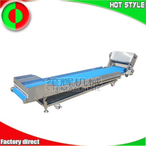 Shenghui food conveying equipment meat vegetable fruit conveyor elevator for sale