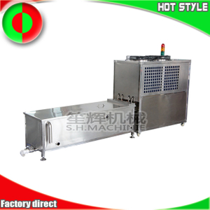 Ozone sterilization unit and pre-cooled water vegetable and fruit fresh-keeping unit
