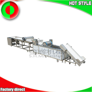 Automatic blueberry fruit cleaning and grading production line machine quote