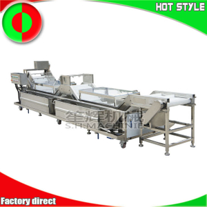 Automatic fruit and vegetable washer