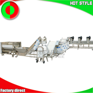 Factory French fries processing line machine