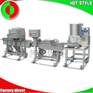 Automatic hamburger forming machine