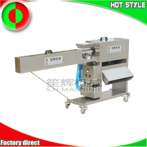 Carrot peeling machine for food processing factory